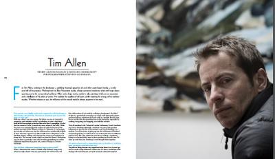 Tim Allen: Artist Profile 2014