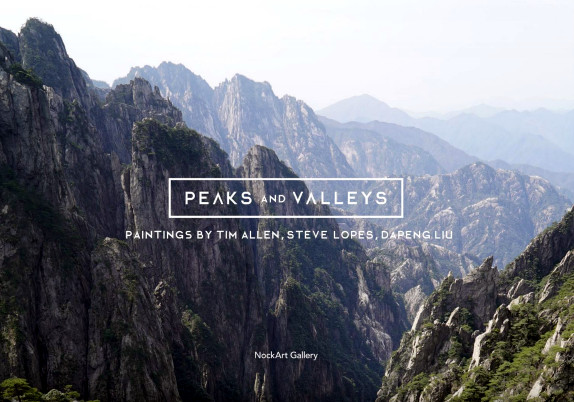 Peaks and Valleys exhibition catalogue 2015